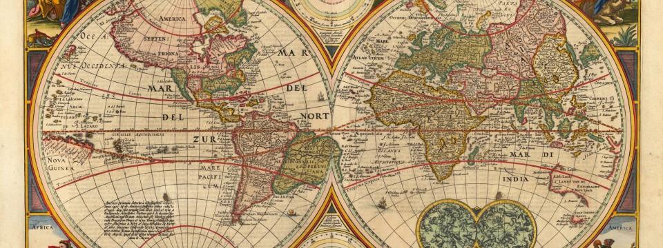 Como trabalhar mapas históricos