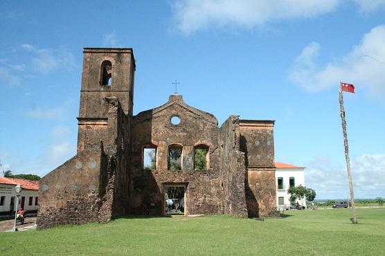 Ruínas de Alcântara, no Maranhão.