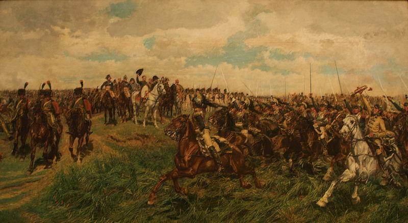 Napoleão na Batalha de Friedland (1807), óleo sobre tela de Jean-Louis-Ernest Meissonier.