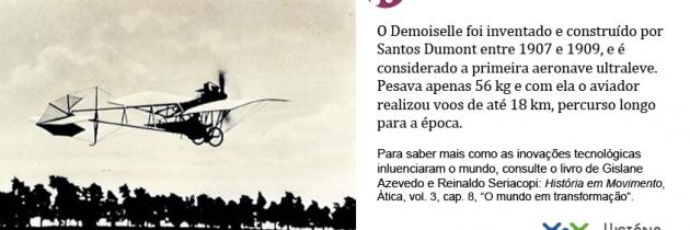 A primeira aeronave ultraleve é brasileira