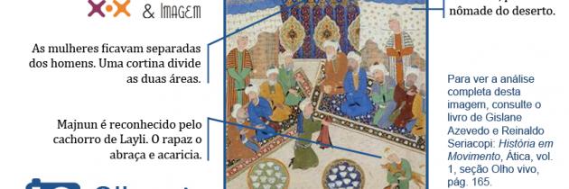 O romance de Majnun e Layli