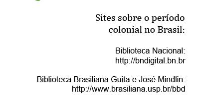 Documentos do Brasil Colônia online