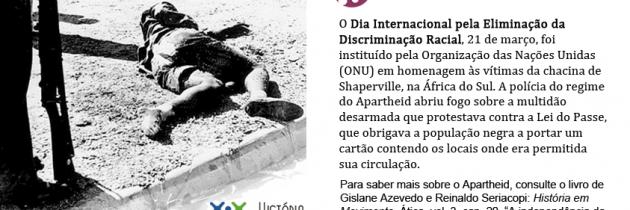 Dia Internacional pela Eliminação da Discriminação Racial