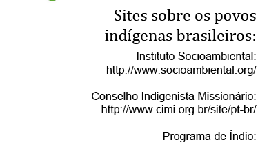 Sites sobre os indígenas do Brasil