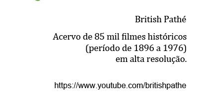 85 mil filmes históricos no YouTube