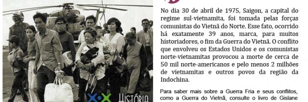 O fim da Guerra do Vietnã