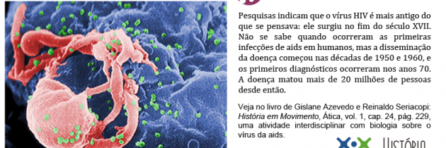O vírus da Aids é mais antigo do que se imaginava
