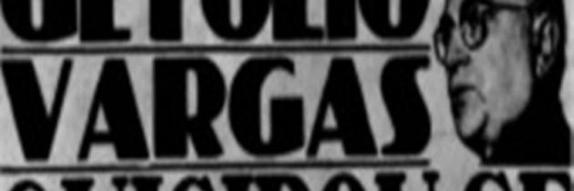Povo chora morte de Getúlio Vargas