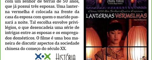"""Filme """" Lanternas Vermelhas"""""""