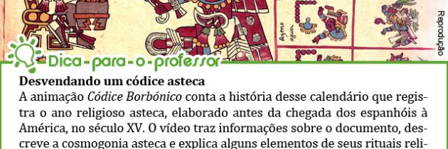 Animação sobre os Astecas