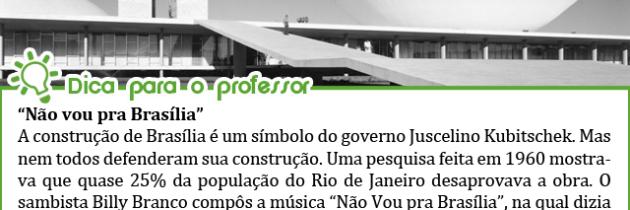 Brasília, a nova sede do Brasil