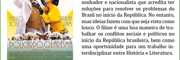 Policarpo Quaresma, Herói do Brasil