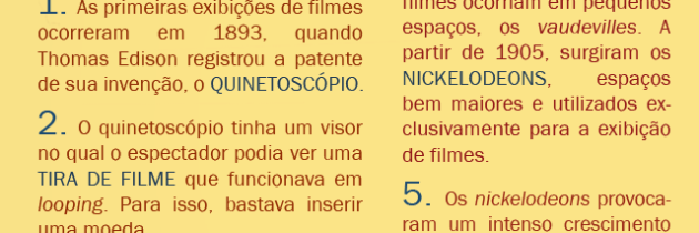 Nascimento do cinema