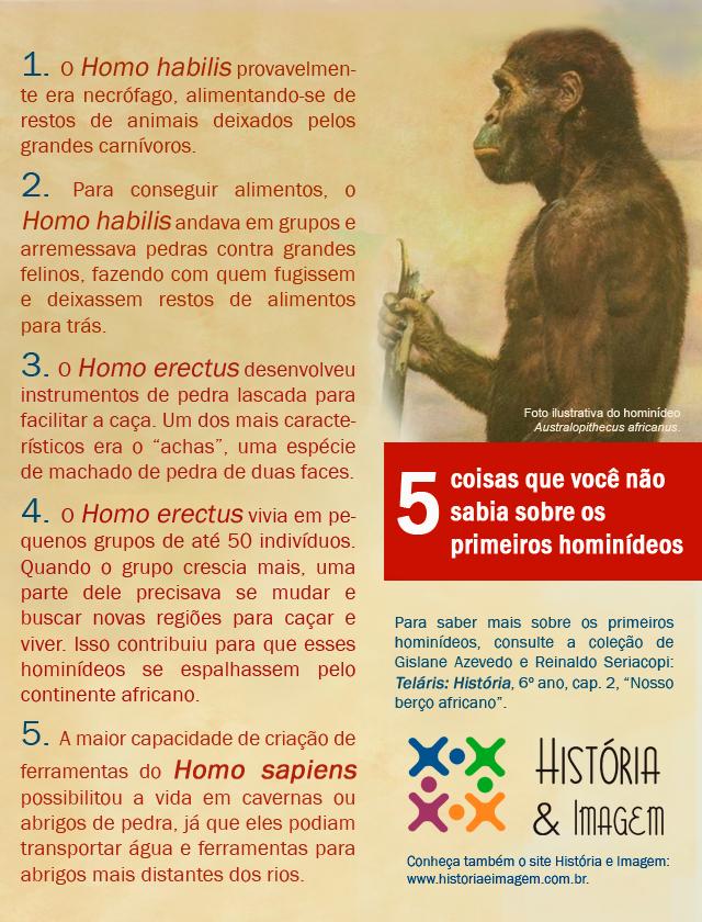 Primeiros hominídeos | História e Imagem