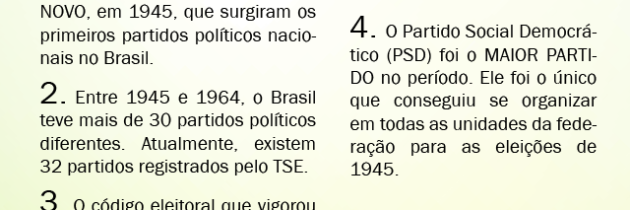 Partidos políticos no Brasil durante a República