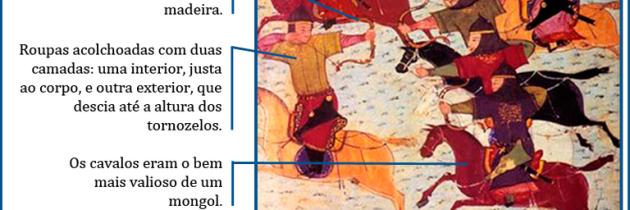 Cavaleiros mongóis