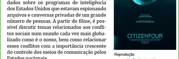"""Documentário """"Citizenfour"""""""